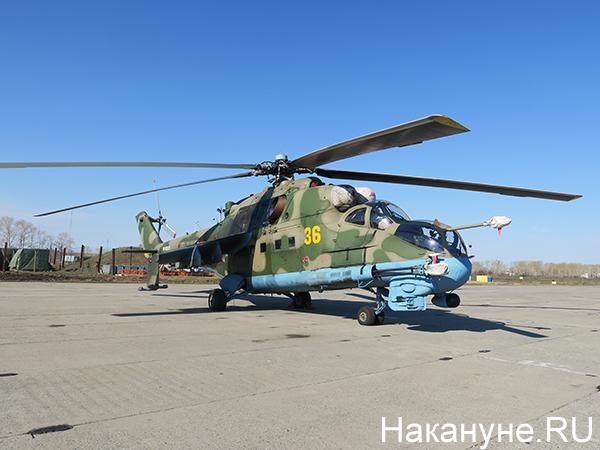 Вертолёт Ми-24(2021)|Фото: Накануне.RU