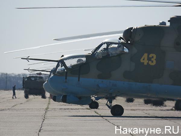 Авиация ЦВО, вертолёты Ми-24(2021)|Фото: Накануне.RU