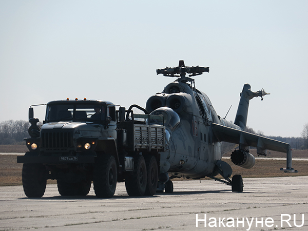 Авиация ЦВО, вертолёт(2021)|Фото: Накануне.RU