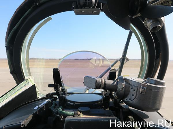 Авиация ЦВО, кабина вертолёта Ми-24(2021)|Фото: Накануне.RU