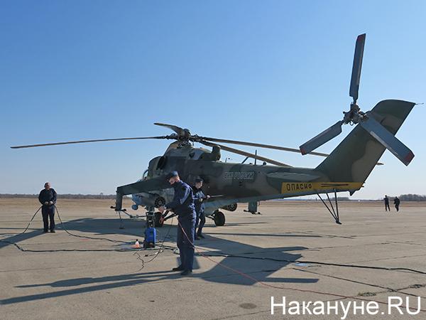 Авиация ЦВО, вертолёт Ми-24(2021)|Фото: Накануне.RU