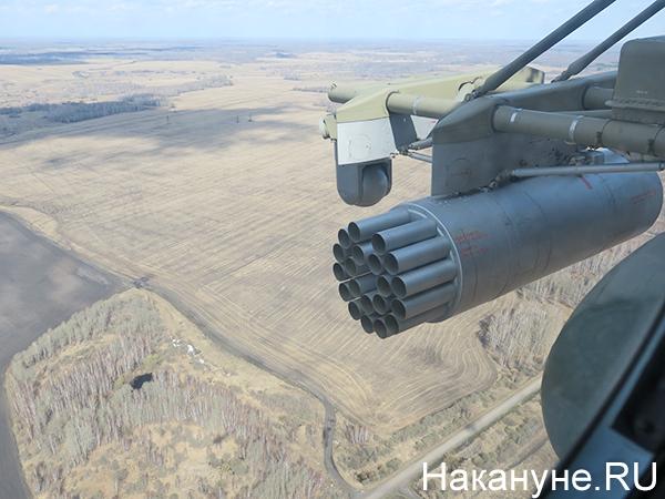 Полёт на вертолёте Ми-8, вид города(2021)|Фото: Накануне.RU