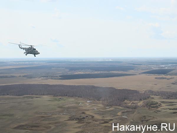 Полёт на вертолёте Ми-8, авиация ЦВО(2021)|Фото: Накануне.RU