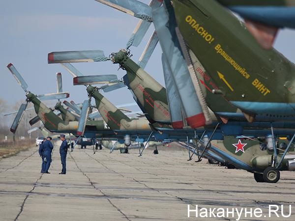 Авиация ЦВО, вертолёты Ми-8(2021)|Фото: Накануне.RU