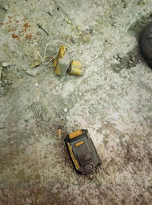 Фотография с места смерти рабочего на строительной площадке по улице Ткачей в Екатеринбурге(2021) Фото: СУ Следственного комитета РФ по Свердловской области