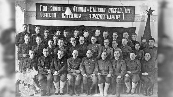 Командование 175-й Уральской стрелковой дивизии НКВД(2021)|Фото: пресс-служба УФСБ по Свердловской области