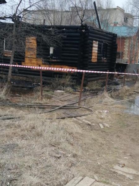 пожар, деревянный дом, Пушкина(2021)|Фото: perm.sledcom.ru