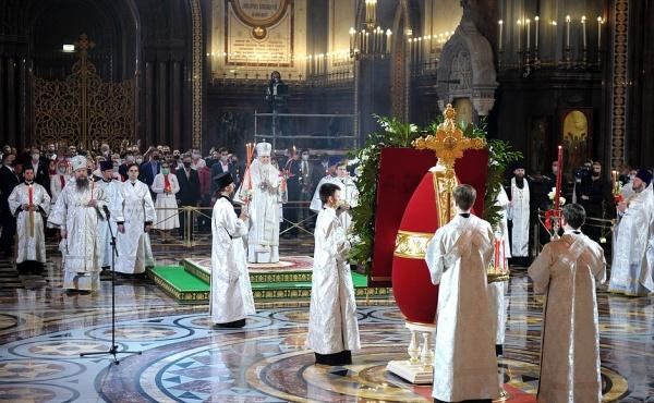Патриарх Кирилл, Пасха(2021)|Фото: kremlin.ru