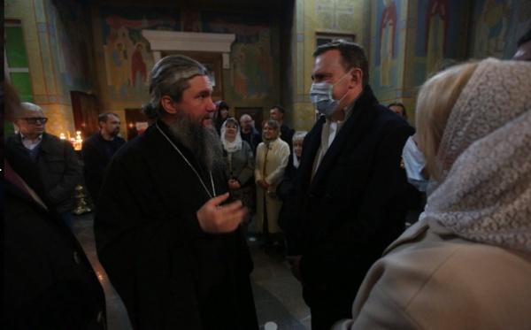 Митрополит Евгений, Пасха(2021) Фото: Екатеринбургская епархия
