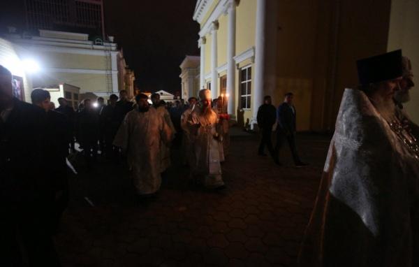 Митрополит Евгений, Пасха, крестный ход(2021) Фото: Екатеринбургская епархия