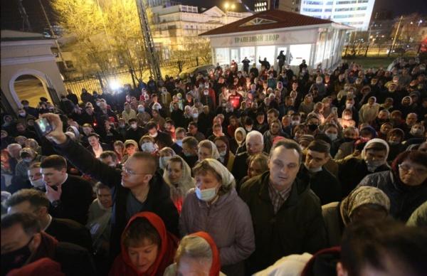 Крестный ход, Екатеринбург(2021) Фото: Екатеринбургская епархия
