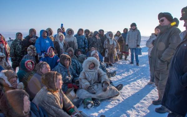 Встреча, тундровики(2021) Фото: Администрация Ямальского района