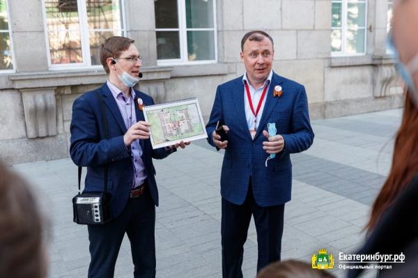 Алексей Орлов, экскурсия по мэрии Екатеринбурга(2021) Фото: Екатеринбург.рф, Федор Серков