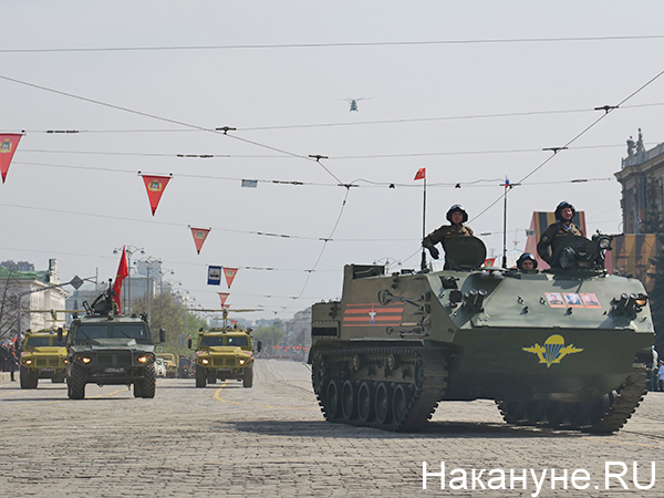 Парад Победы в Екатеринбурге(2021)|Фото: Накануне.RU