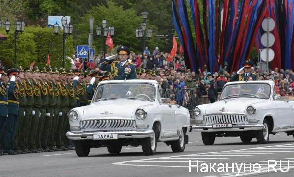 парад, Донецк, ДНР(2021)|Фото: