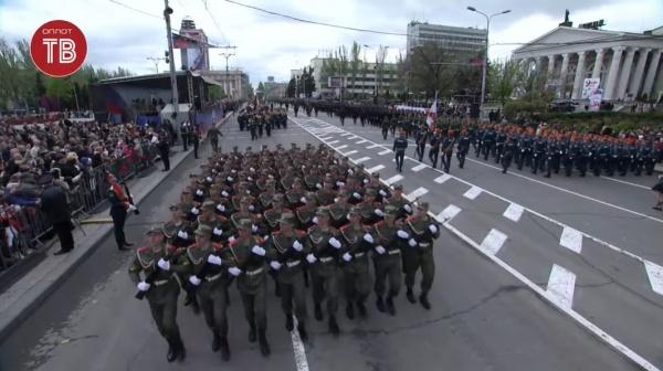 парад, Донецк, ДНР(2021)|Фото: Оплот ТВ