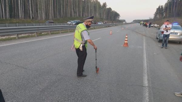 Авария. ЕКАД(2021) Фото: ОГИБДД УМВД России по Екатеринбургу