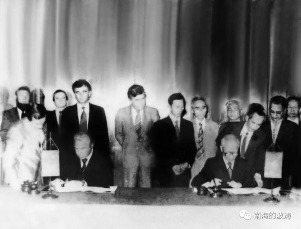 Подписание советско-вьетнамского договора о добыче нефти(2021)|Фото: mp.weixin.qq.com
