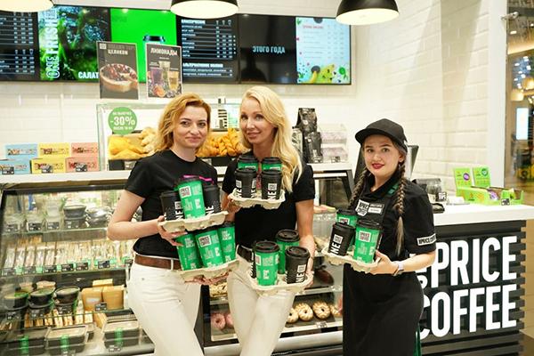 Открытие ONE PRICE COFFEE в Екатеринбурге(2021)|Фото: пресс-служба ONE PRICE COFFEE