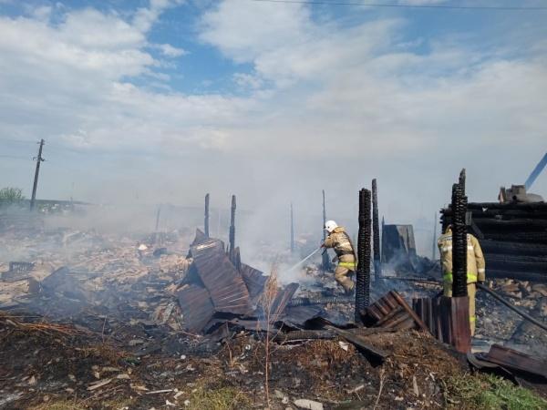 пожар в Белоярском(2021)|Фото: ГУ МЧС России по Свердловской области