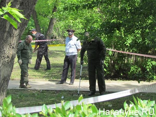 Нападение в сквере имени Джавахарлала Неру в Екатеринбурге(2021)|Фото: Накануне.RU