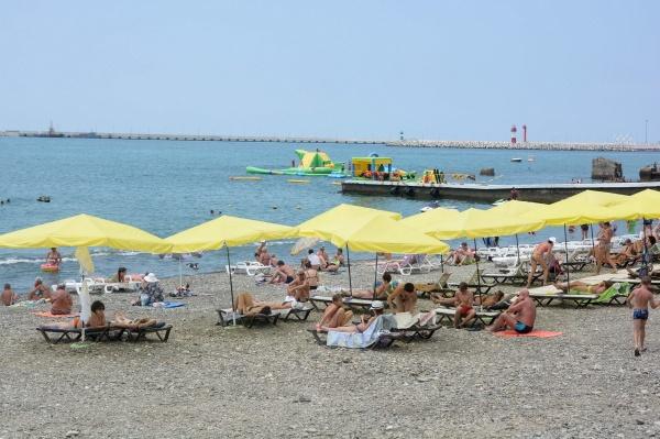 пляж, геленджик, море, отдых, внутренний туризм(2021)|Фото: пресс-служба администрации Краснодарского края