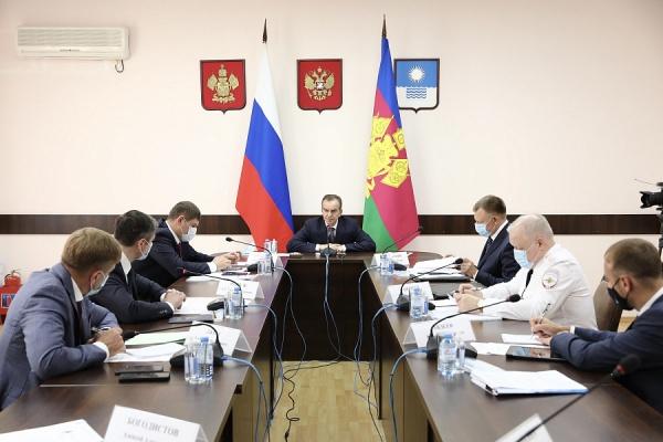 кондратьев, совещание(2021)|Фото: пресс-служба администрации Краснодарского края