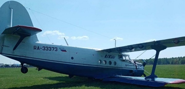 Ан-2, ЮТэйр, жёсткая посадка(2021)|Фото: Уральска транспортная прокуратура