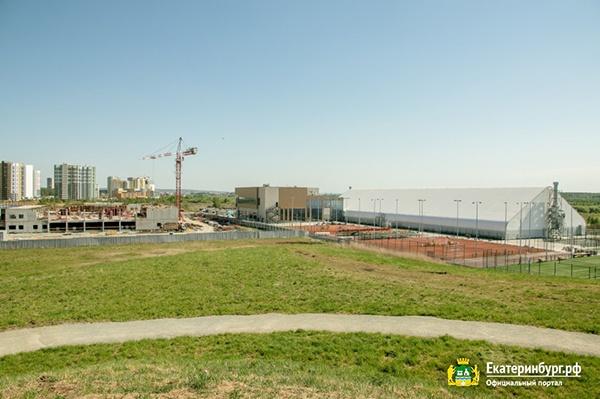 Строительство спортивных объектов, возводимых к проведению XXXII Всемирных летних студенческих игр(2021)|Фото: Екатеринбург.рф / Алина Шешеня