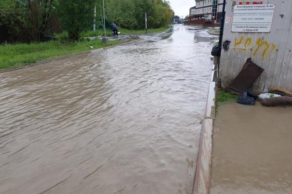 потоп в Ханты-Мансийске(2021) Фото: vk.com/typical_xm