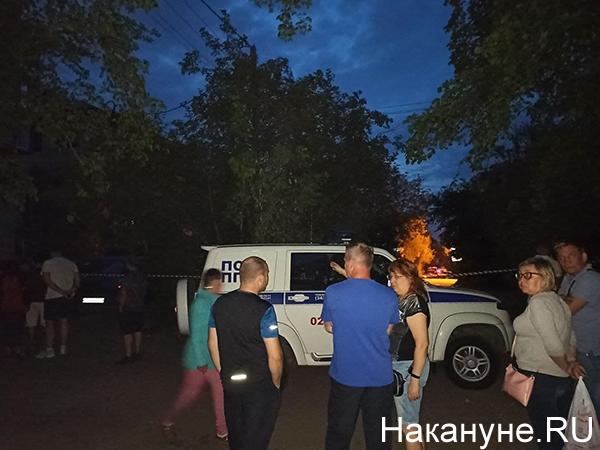 Стрельба на Химмаше на ул. Бородина, 31 в Екатеринбурге(2021)|Фото: Накануне.RU