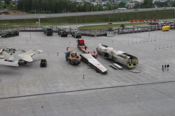 бомбардировщик М-4(2021)|Фото: Пресс-служба УГМК