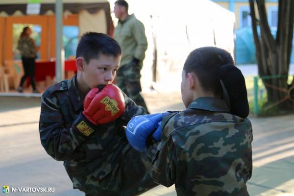 бокс, детский отдых, спортивный лагерь, нижневартовск(2021) Фото: пресс-служба администрации Нижневартовска