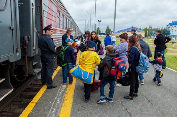 детский отдых, вокзал, каникулы, нижневартовск(2021) Фото: пресс-служба администрации Нижневартовска