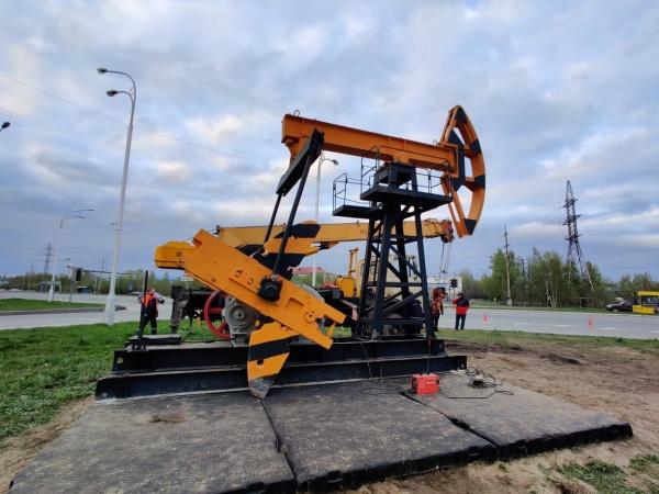 Нефтяная качалка, Нижневартовск(2021) Фото: Администрация Нижневартовска