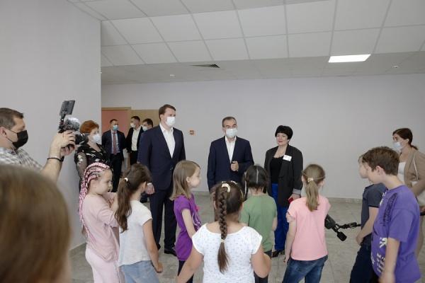кондратьев, дети(2021)|Фото: пресс-служба администрации Краснодарского края