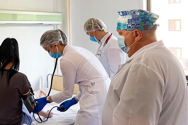 Пациентка с опухолью сердца(2021)|Фото: пресс-служба Департамента здравоохранения Тюменской области