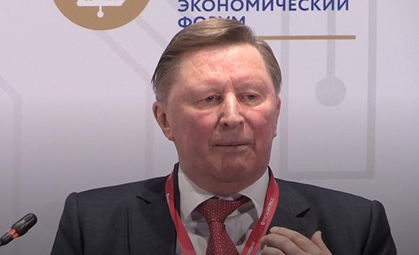 Сергей Иванов на ПМЭФ 2021(2021) Фото: forumspb.com