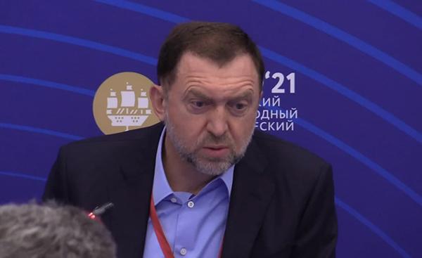 Олег Дерипаска на ПМЭФ 2021(2021)|Фото: forumspb.com