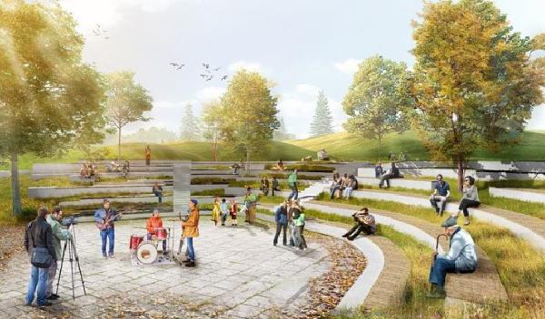 Дизайн-проект благоустройства парков в Екатеринбурге(2021)|Фото: instagram.com/glava.ekb