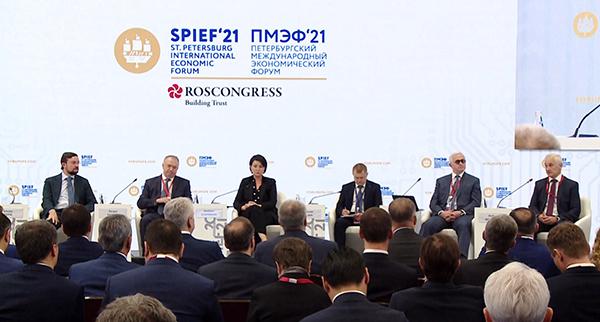 ПМЭФ 2021(2021)|Фото: forumspb.com