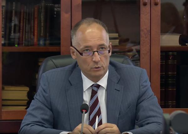 Константин Бабкин на заседании Совета ТПП РФ(2021)|Фото: me-forum.ru