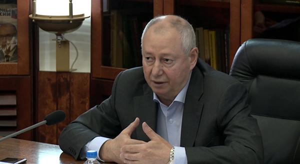 Владимир Ганза на заседании Совета ТПП РФ(2021)|Фото: me-forum.ru