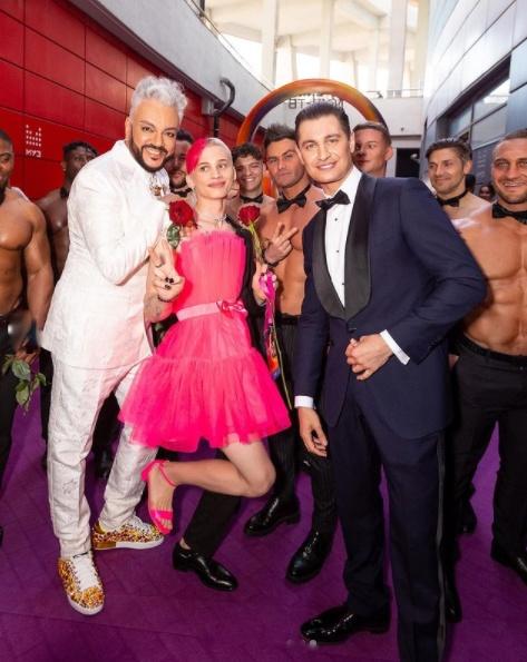 Киркоров, Дава и Даня Милохин на премии МУЗ-ТВ.(2021) Фото: instagram.com/fkirkorov