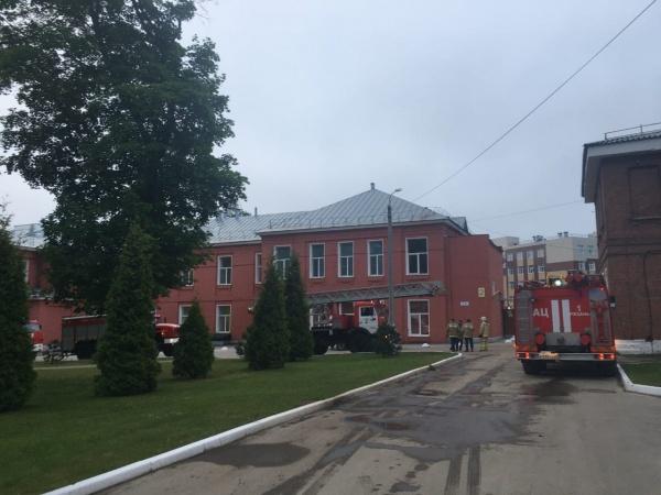 Пожар в больнице им. Семашко в Рязани 09.06.21.(2021)|Фото: vk.com/ryazanoblast / пресс-служба правительства Рязанской области