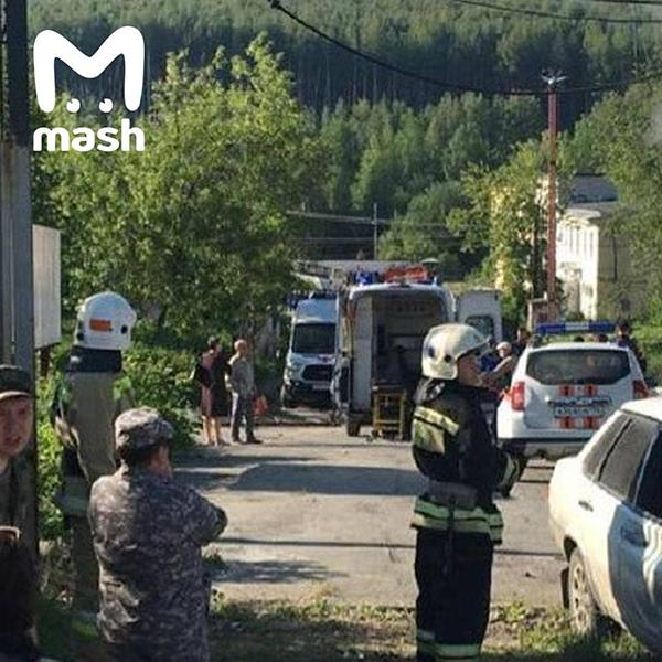 Автобус ПАЗ, врезавшийся в остановку в закрытом городе Лесной Свердловской области(2021) Фото: Telegram / Mash