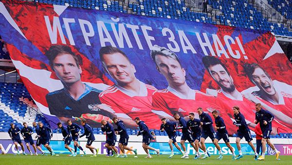 Сборная России по футболу(2021)|Фото: твиттер сборной России по футболу
