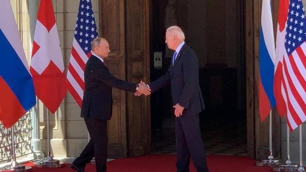 Переговоры Джо Байдена и Владимира Путина в Женеве.(2021)|Фото: Мария Захарова