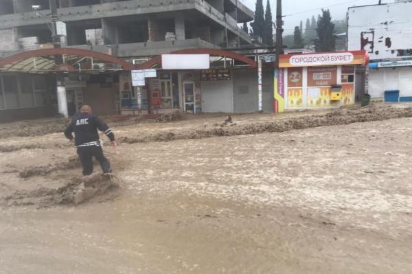 Ялта, наводнение, потоп(2021)|Фото: facebook.com/pavlenkojp