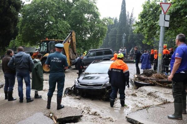 Ялта, наводнение, потоп(2021) Фото: facebook.com/pavlenkojp